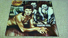 DAVID BOWIE DIAMOND DOGS RE RCA International UK LP 1981 w/ POSTER