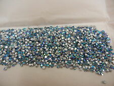full package,1440 swarovski rhinestones in 24pp aquamarine AB/foiled #1100