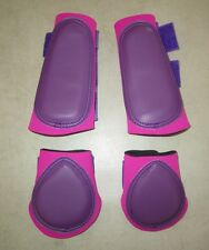 Horse Boots 1 Pair Brush boots & 1 Pair Back boots. Choose your size & Colours
