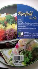 (1kg=9,97€) - Premium Reispapier, Teigblätter aus Reis-Tapioka - Frühlingrolle