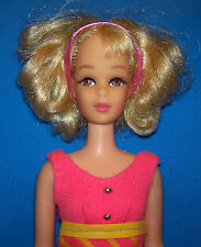 Vintage #1170 Curly Blonde Hair Twist & Turn TNT Francie Doll 1969 OSS Barbie