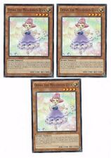 X3 YUGIOH OPERA THE MELODIOUS DIVA CORE-EN008 1ST COMMON (IN HAND)