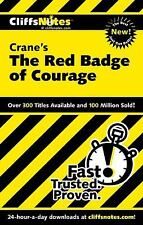 Stephen Crane THE RED BADGE OF COURAGE Cliffs Notes Cliffnotes
