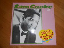 SAM COOKE - WHAT A WONDERFUL WORLD! NEAR MINT 1st DENMARK PRESS!!!