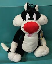 """Six Flags Magic Mountain Looney Tunes Sylvester Cat 24"""" Plush New"""