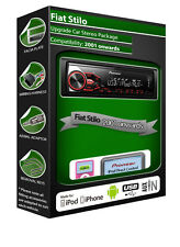 Fiat Stilo Autoradio, Pioneer Stereo USB AUX IN, iPod iPhone Android Player