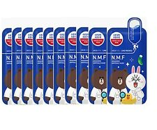Mediheal Line Friends N.M.F Aquaring Ampoule Face Mask Sheet 27ml X 10pcs