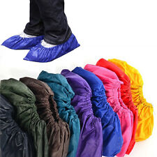1 Pair Reusable Men Waterproof Shoes Cover Breathable Overshoes Multicolor