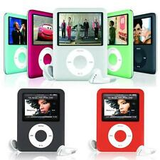 "1.8"" 8GB MP4 MP3 LCD Musik Video Digital Player Recording FM Radio Zubehörpaket"
