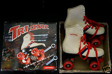 Vintage Tri-Star 317C Chicago Cool Retro Unisex Roller Skates Complete With Box