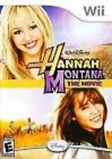 Hannah Montana The Movie GAME Wii & WII U