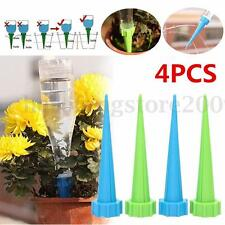 4x Automatic Watering Irrigation Spike Garden Plant Flower Drip Water Sprinkler