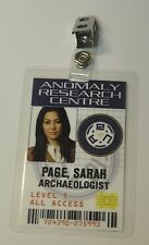 Primeval ID Badge-Anomaly Research Centre Sarah Page Archaeologist cosplay