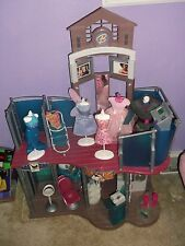 USED...Nice Condition... Mattel Barbie Fashion Show Mall Play Set