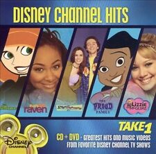 DISNEY CHANNEL HITS TAKE 1 rare Family Kids dvd RAVEN LIzzie Mcguire Even Steve