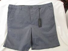 "Men's ""Marc Anthony"" Size 33, Dress Blues, Flat Front, Slim Fit, Casual Shorts"