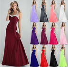 New Formal Helter Evening Ball Gown Party Prom Bridesmaid Dress Stock Size 6-18