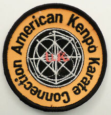 Martial Arts Embroidered Sew On Uniform Patch American Kenpo Karate Connection
