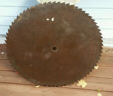 "Primitive 28.5"" Sawmill Buzz Saw Blade, 72 Teeth,  Rustic Decor"