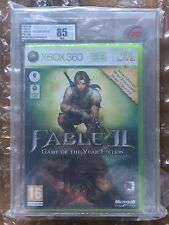 BRAND NEW FACTORY SEALED FABLE 2 GOTY RELEASE UKG / VGA GRADED 85