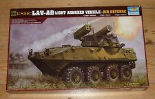 Trumpeter 1/35 scale USMC LAV-AD Light Armoured Vehicle Air Defense