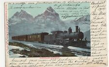 Switzerland, Gotthard Express 1904 Postcard, B236