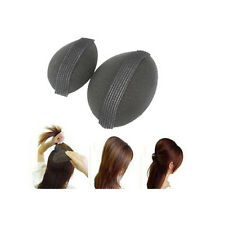 2 x Bump It Up Volume Hair Base Styling Insert Tool Piece Volumiser Big + Small