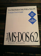 Microsoft MS-DOS 6.22 Manual in great condition!