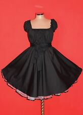 Gr 42 44 46 Damen ROCKABILLY 50er Petticoat Pin Up Abend Party Vintage KLEID
