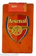 RUG ARSENAL PRINTED BEDROOM FLOOR MAT THE GUNNERS CREST FOOTBALL CLUB TEAM RED
