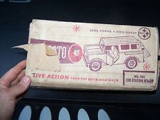 Vintage Structo No.325   Cub, Truck, Pressed Steel Toy Vehicle  Box ONLY
