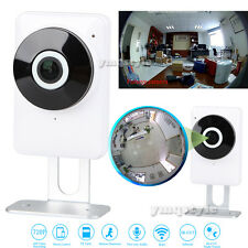 Wireless Wifi 720P HD IP CCTV Camera Security Network Night Vision 180° Fisheye