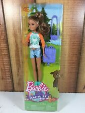 Barbie Camping Fun Stacie Doll Backpack Camera New 2016 Sister