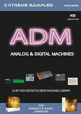 Xtreme Samples ADM Analog & Digital Machines Drumlib Logic EXS24 | NI Kontakt