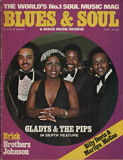 Gladys Knight Blues & Soul Iss 216 Johnny Guitar Watson Brothers Johnson Reggae