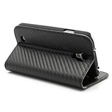 Cooler master Carbon Texture Flip Cover For Samsung Galaxy S4 (C-SSBF-CTS4-KK)