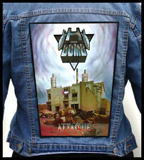 H-BOMB - Attaque   --- Huge Jacket Back Patch Backpatch