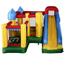 Inflatable Bounce House Castle Jumper Moonwalk Bouncer Without Blower