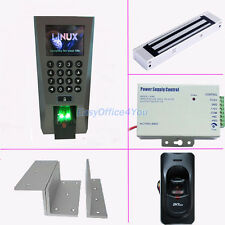 ZKTeco F18+FR1200 Master & Slave fingerprint access control Kits For Entry+Exit