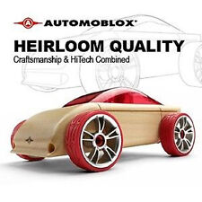 *NEW* AUTOMOBLOX C9 Red Sports Car wooden puzzle model