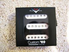 Genuine Fender Custom Shop '69 Strat Pickup Set of 3 USA Made +Many Free Gifts