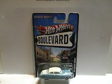 Hot Wheels Boulevard Blue/White '52 Hudson Hornet