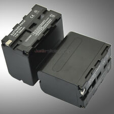 2x 7800mAh Battery Pack for Sony NP-F970 NP-F960 NP-F950 NP-F930 NP-F770 NP-F750