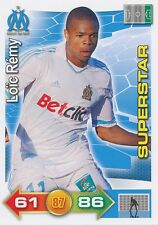 LOIC REMY # OLYMPIQUE MARSEILLE OM CARD PANINI ADRENALYN 2012