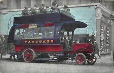 BF39628 vanguard london double decker bus  car voiture oldtimer