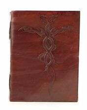 New Vintage Handmade Leather Journal, Handmade Diary, Travel Tie Wrap Journal