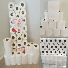 72 Rolls Quilted Toilet Rolls 2 Ply Tissue (jumbo) 21m tissue per roll