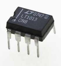Linear Technology LT1013-CN8, dual OP AMP, DIL8.  UK Seller. Fast Dispatch.
