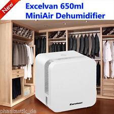 Portable 650ml Mini Semiconductor Air Dehumidifier Air Purify Home Kitchen UK
