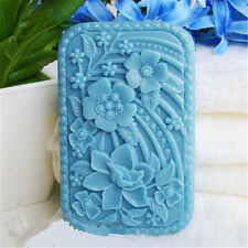 Flowers S438 Silicone Soap mold Craft Molds DIY Handmade soap mould